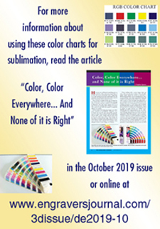 Request Free Sublimation Color Charts