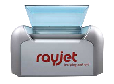 Trotec Laser, Inc. offers the Rayjet 50,