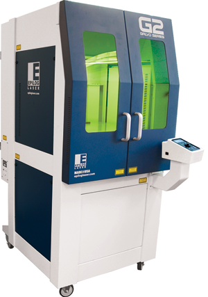 "Epilog Laser recently introduced its G2 Galvo Laser series which have 4"" x 4"", 16"" x 16"" or 24"" x 24"" engraving areas."