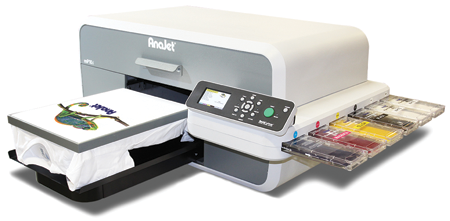 The MP5i DTG printer from AnaJet.
