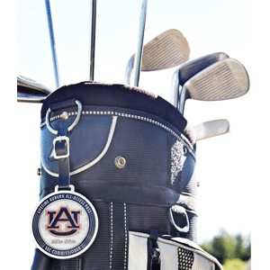 A.T. Designs INSIGNIA manufactures custom bag tags in many different shapes, sizes, finishes and materials for golf and many other sports.