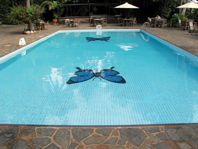 One personalization professional found a niche market sublimating pool tiles. Photo courtesy of Bing Images.