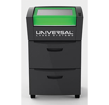Universal Laser Systems offers modular air cleaner/cart exhaust extraction and filtration systems for its lasers like the VLS 2.30.
