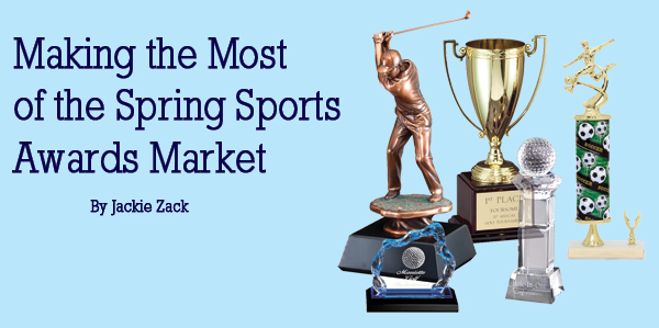Making the Most out of the Spring Sports Awards Market