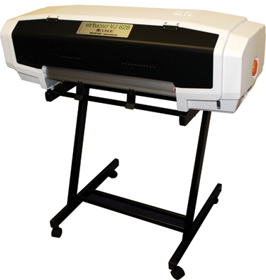 "Available from Condé Systems, Inc., the Virtuoso VJ 628 wide-format sublimation printer features a 24.8"" media width."