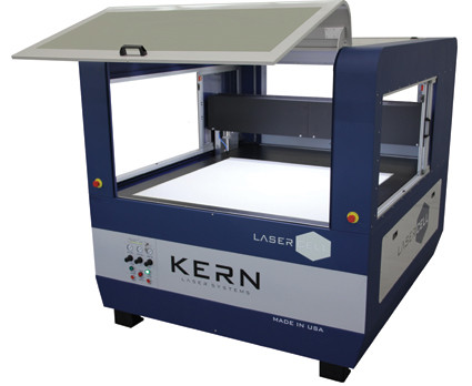 "The LaserCELL from Kern Laser Systems is a large format CO2 laser with a 52"" x 52"" enclosed work area."