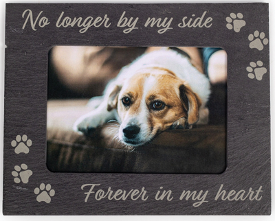 A product like a photo frame can make a touching memorial gift. Photo courtesy of Johnson Plastics Plus.