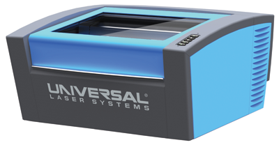 "Universal Laser Systems offers the VLS2.30 desktop laser featuring a 12"" x 16"" working range."