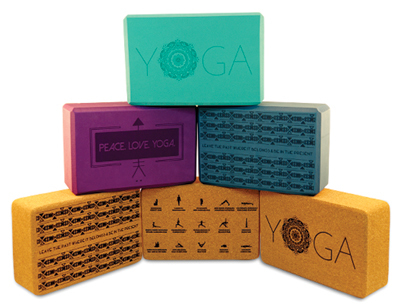 Epilog Laser has a large selection of sample Jobs on their website, including these personalized yoga blocks.
