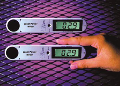 The best way to measure your laser power output is by using a laser power meter.