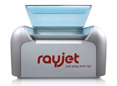 Trotec Laser, Inc. offers the Rayjet 50, a compact desktop laser.