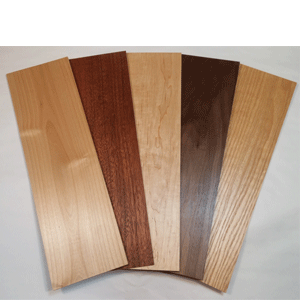 Studio Workshop offers a wide variety of wood sheets that can be used for many different products.