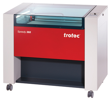 The Speedy 360 from Trotec Laser Inc. is available as a CO2, fiber or dual-source CO2/fiber laser.